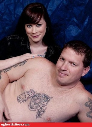 chest tattoo tiger - 6257758464