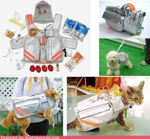 emergency evacuation jacket pets supplies - 6257761792