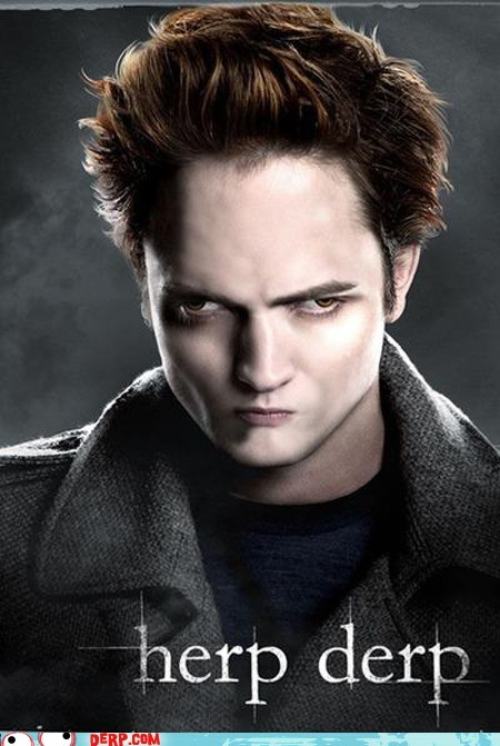 best of week derp edward cullen movie poster still better than twilight