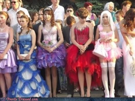 dress lady bits prom school - 6258343936