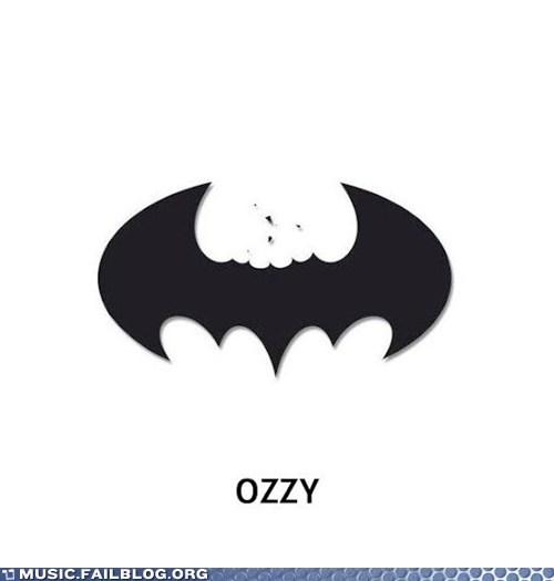 batman black sabbath metal Ozzy Osbourne - 6258611968