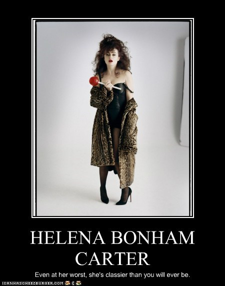 actor celeb demotivational funny helena bonham-carter - 6258718464
