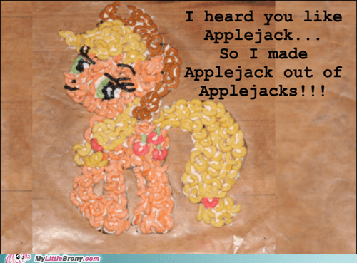 applejack applejacks cereal yo dawg - 6258854400