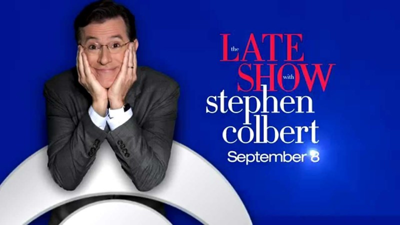 jeb bush stephen colbert debut george clooney late show cbs
