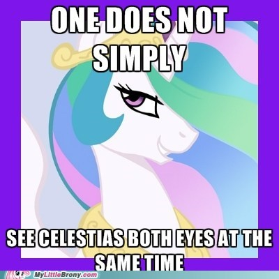 celestia eyes mane one does not simply TV - 6259282176