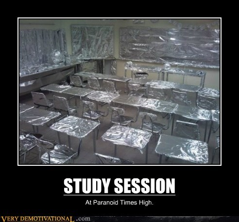 hilarious paranoid study tin foil - 6259480832
