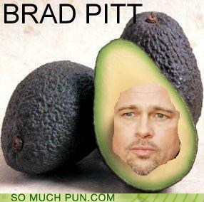 brad pitt,double meaning,Hall of Fame,homophone,literalism,pit,pitt
