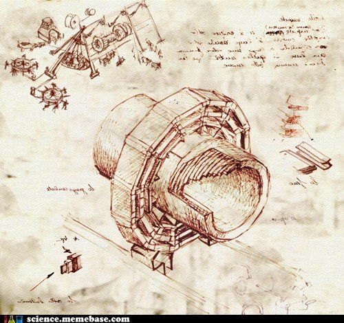 CMS,incredible,leonardo da vinci,LHC,physics