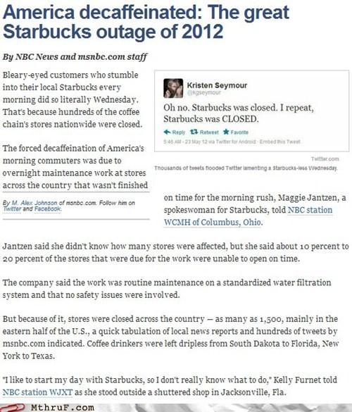 coffee MSNBC Starbucks starbucks closed starbucks outage starbucks stores - 6259557888