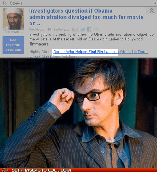best of the week David Tennant doctor who history of course osama bin ladin the doctor time travel - 6259657728