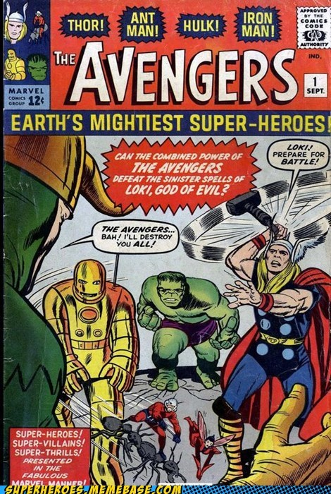 antman avengers hulk ironman Straight off the Straight off the Page Thor - 6259710976