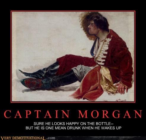 angry captain morgan drunk hilarious - 6259719424