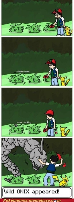 comic,onix,random encounter,tall grass