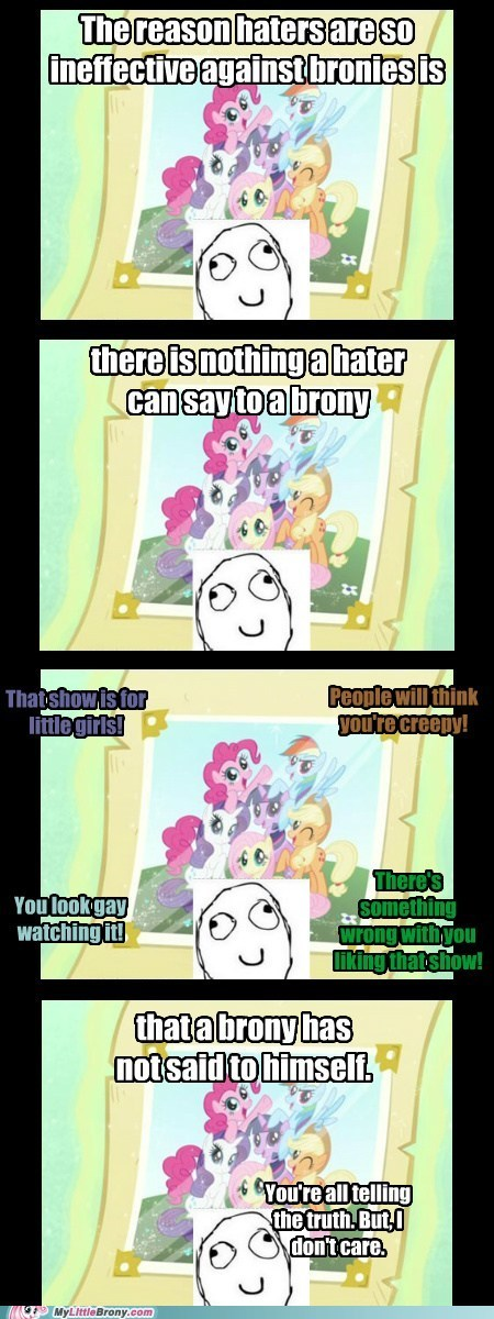 Bronies introspection shrugs the internets we-dont-care - 6259791360