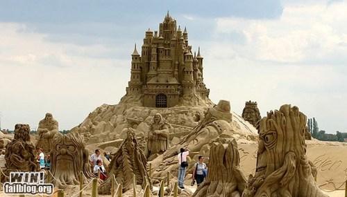 beach design sand castle summer - 6259891712