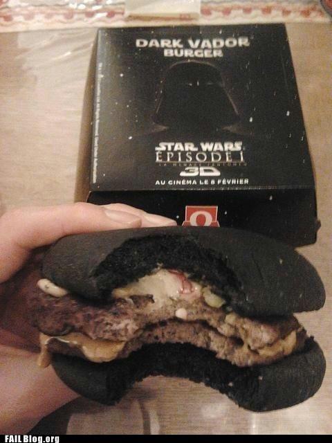 burger burger king cheeseburger fail nation fast food g rated star wars - 6260129792