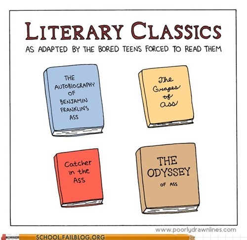 adaptations,ass,literary classics,so clever