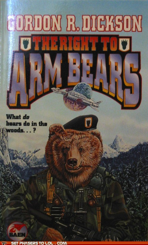 arms,awesome,bears,best of the week,book covers,books,cover art,science fiction,wtf