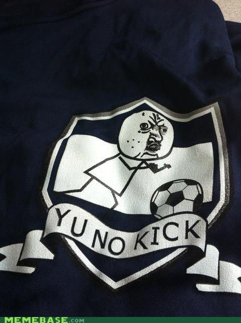 jersey kick soccer Y U No Guy - 6260568576