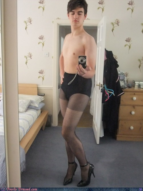 classy cross dressing mirror pic underwear you-fancy - 6260715264
