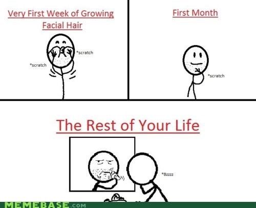 hair,life,Rage Comics,rest,shaving