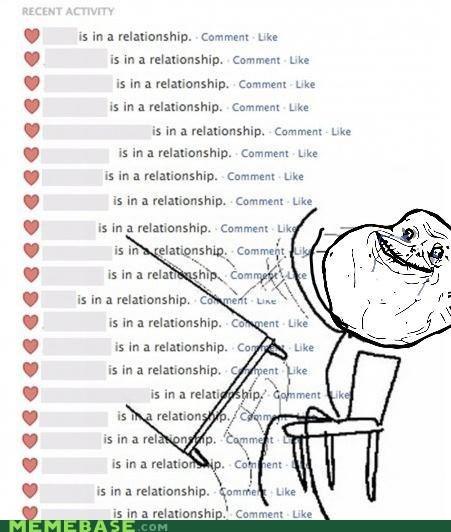 facebook forever alone me relationship - 6260760064