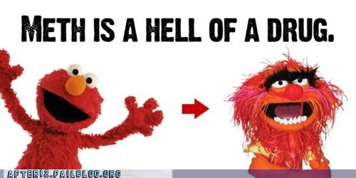 elmo Hall of Fame meth Not Even Once Sesame Street