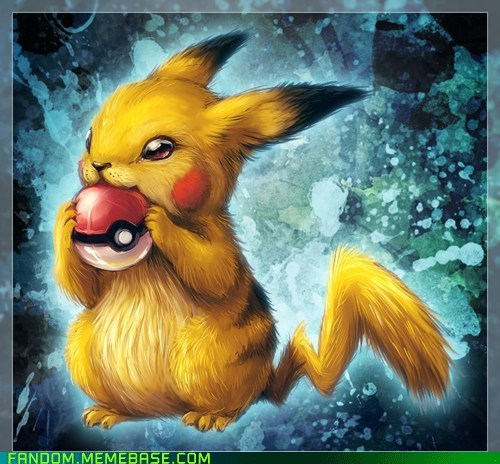 Fan Art pikachu Pokémon realistic - 6260967936