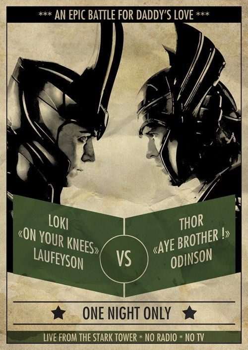 Fan Art loki marvel summer blockbusters The Avengers Thor - 6260998144
