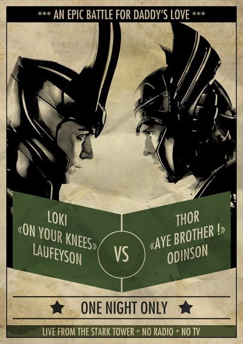 Fan Art loki marvel summer blockbusters The Avengers Thor - 6260998144