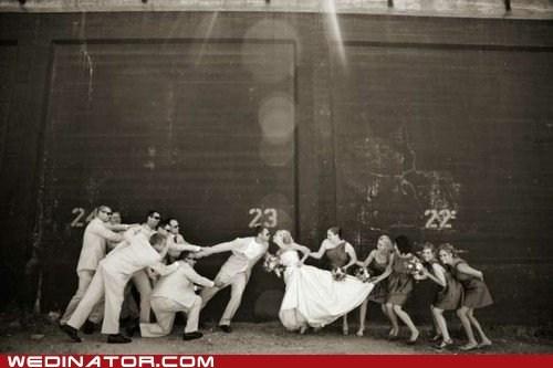 bride bridesmaids funny wedding photos groom groomsmens - 6261143296
