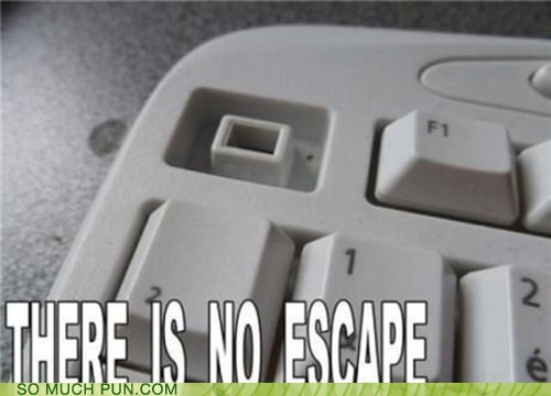 classic,computer,escape,key,keyboard,literalism,missing,no