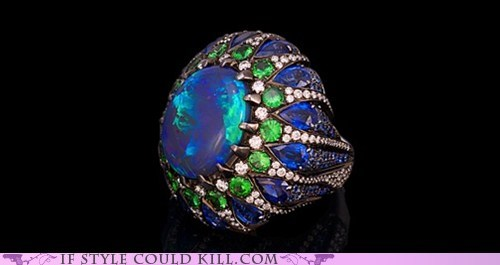 blue cool accessories ring of the day rings - 6261387008