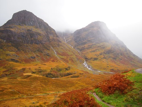 mist,mountain,scotland,valley