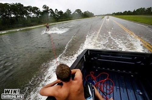 flood skiing sports stunt truck whee - 6261653760