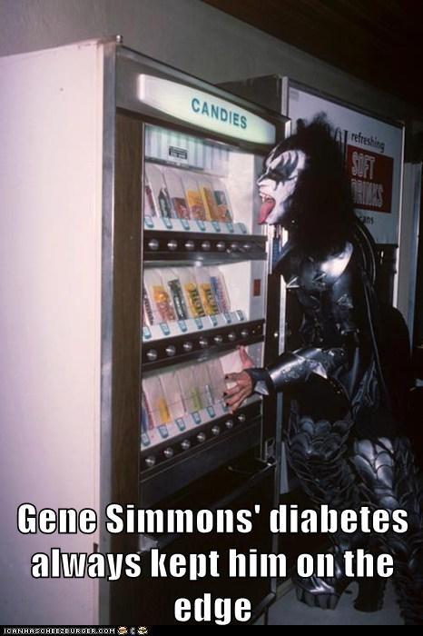 celeb,funny,Gene Simmons,KISS,Music