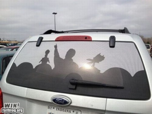 car,decal,decoration,g rated,Hall of Fame,mystery science theater,nerdgasm,win