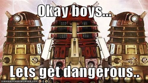 boys,daleks,dangerous,darkwing duck,doctor who,lets-get-dangerous