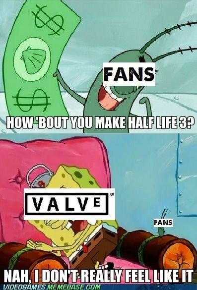 fans half life SpongeBob SquarePants the feels valve - 6262346752