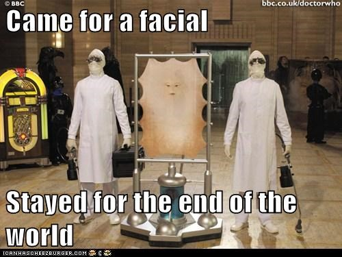 cassandra doctor who facial skin stayed the end of the world the last human - 6262489088