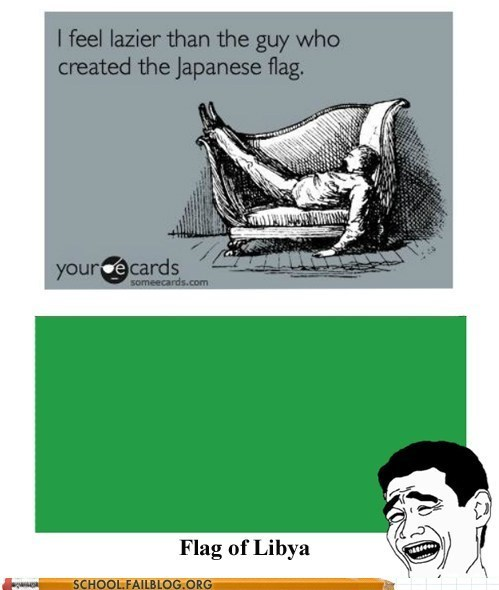 class is in session,flag of libya,geography 309,japanese flag