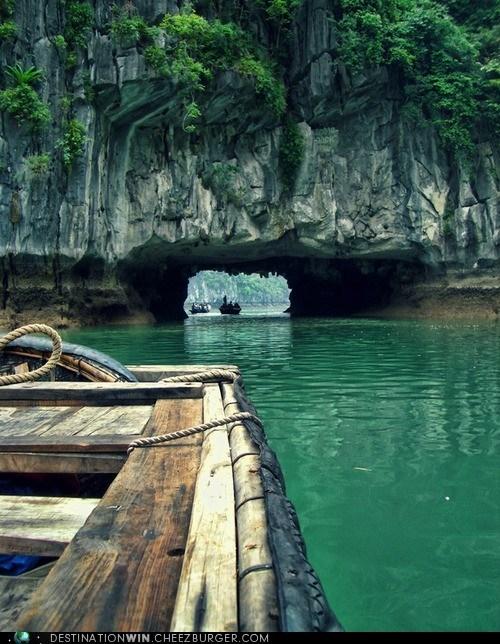 boat ocean rocks - 6263739392
