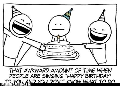 awkward moments birthday song cake - 6263753216