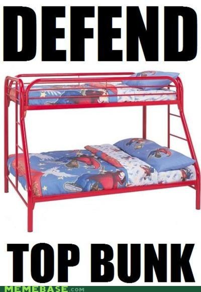 bunk beds defend Memes top bunk - 6263761152