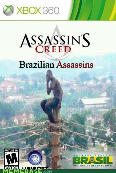 assassins creed,brasil,new game,Rio,the internets