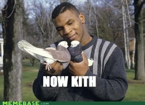 birds KISS Memes mike tyson pigeons - 6263799296