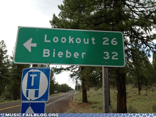 justin bieber lookout sign - 6263879680