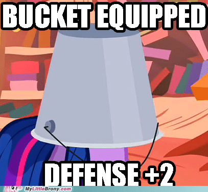 bucket gear loot meme twilight sparkle - 6263887360