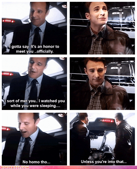chris evans,clark gregg,funny,Movie,summer blockbusters,The Avengers