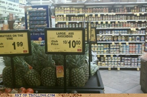 avocados shoppers beware sign store that looks naughty - 6263960064